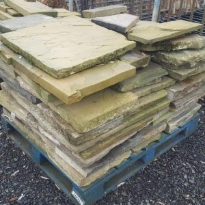 Reclaimed York Flagstones - Patio Blend