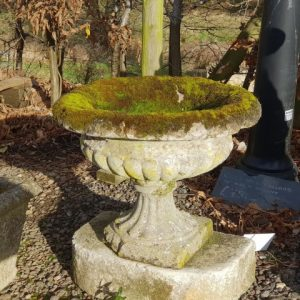 Reclaimed small planter - urn (Small)