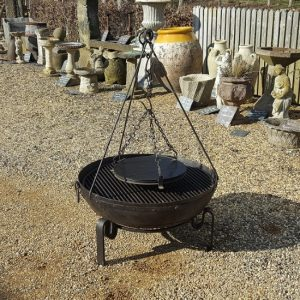 Recycled Indian Fire Pit