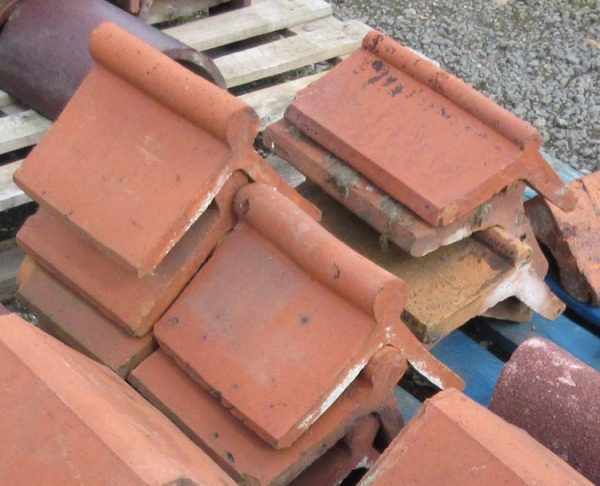 Red Roll Top Clay Ridge Tile Reclaimed