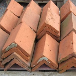 Red Triangular Clay Ridge Tile