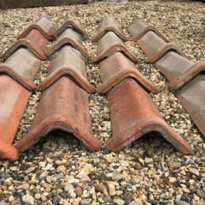 Red Triangular Clay Roof tiles