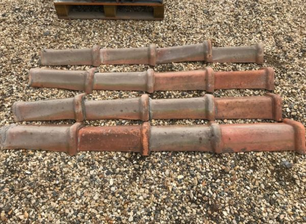 Red Triangular Roof Tiles