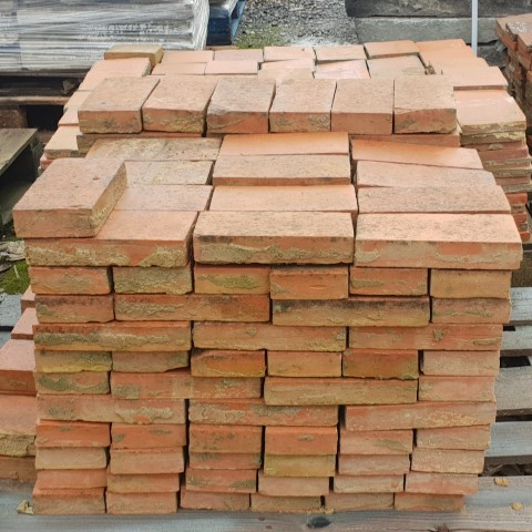 Victorian Pavers Red Reclaimed