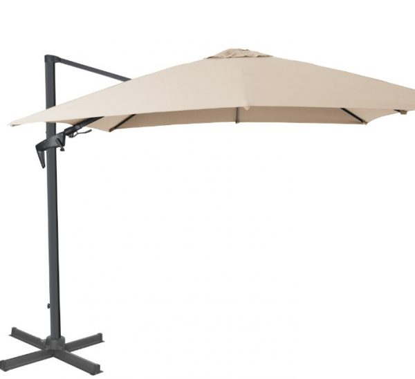 Royce Executive Parasol Taupe