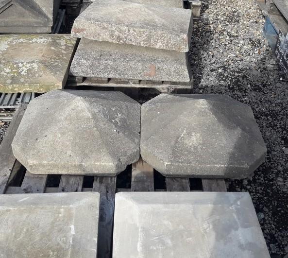 Sandstone Hexagonal Pier Caps 2