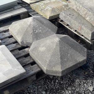 Sandstone Hexagonal Pier Caps