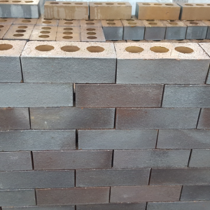 Blue Engineering Brick - Perforated