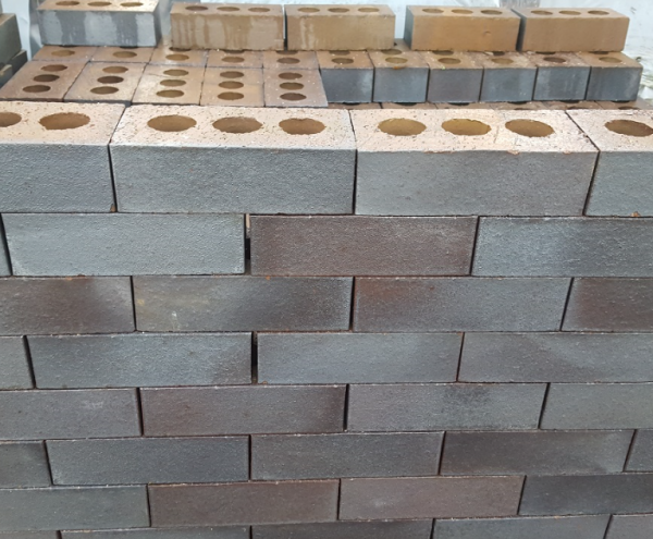 Blue Engineering Brick - Perforated