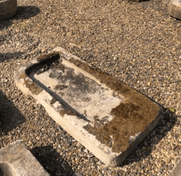 Well Weathered Yorkstone Sink