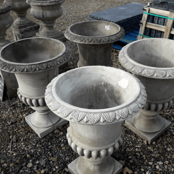Reconstituted Limestone Urn Planters
