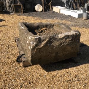 Rustic Stone Trough