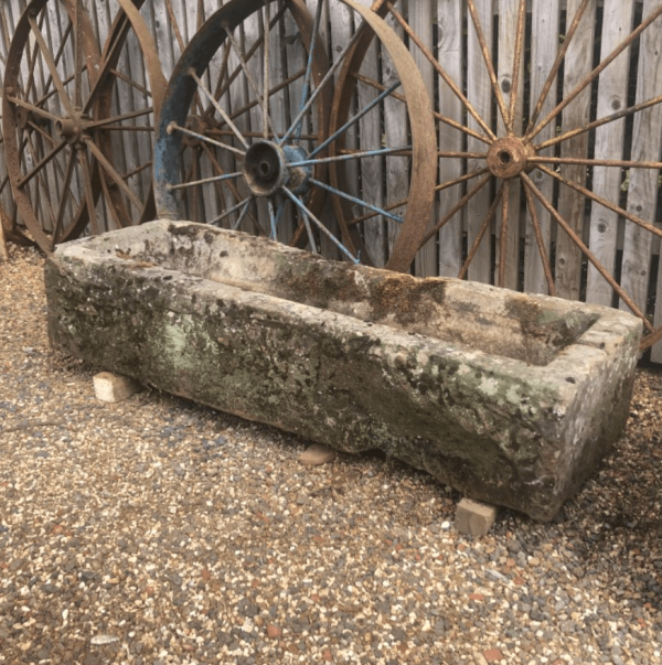 Long Narrow Yorkstone Trough