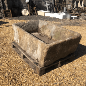 Reclaimed Yorkstone Trough