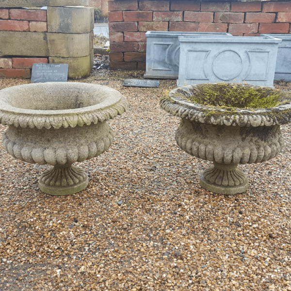 Small Reclaimed Stone Urn