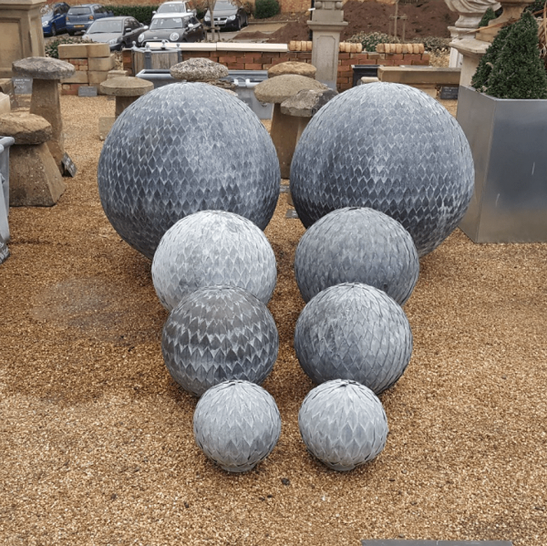 Collection of Zinc Leaf Balls