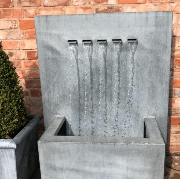 Modern Garden Water Feature