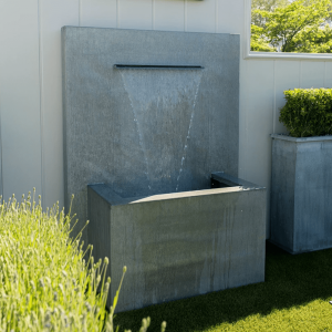 Contemporary Garden Water Feature by A Place in the Garden