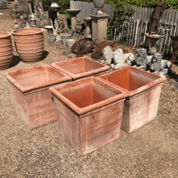 Italian Cube Handmade Planters