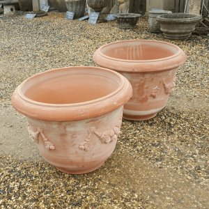 Terracotta Pot Swag Detail Italian