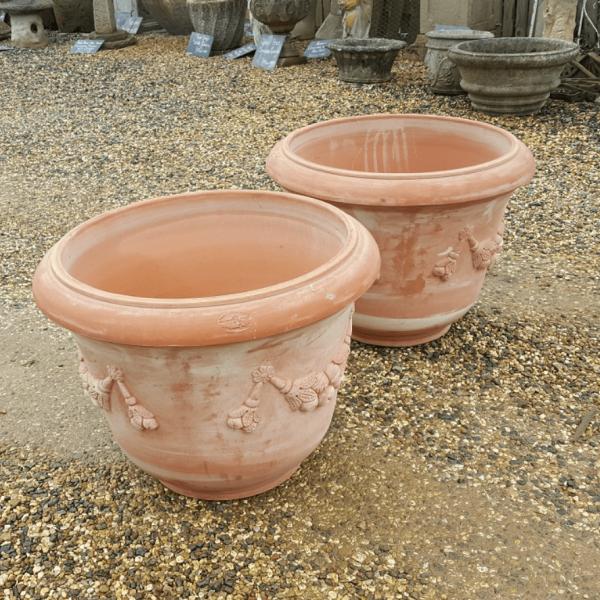 Terracotta Pot Swag Detail Italian