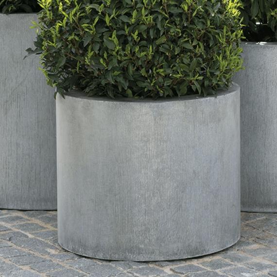 Contemporary Cylinder Garden Pot - Ravello
