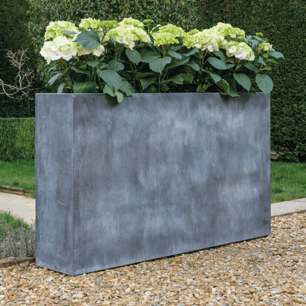 A Place in the Garden Zinc Trough Planter