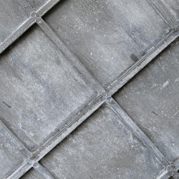 Georgian Style Zinc Planter Close Up Detail