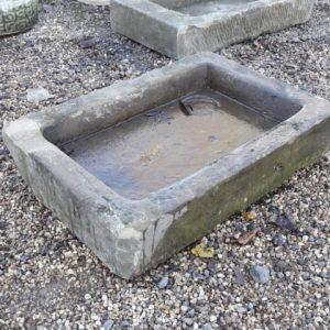 Shallow Yorkstone Sink (Small)