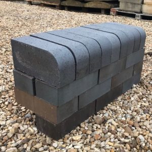 Single Bullnose Brick Blue