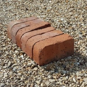 Single Bullnose Brick Red Reclaimed