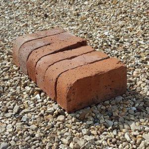 Single Bullnose Brick Red Reclaimed