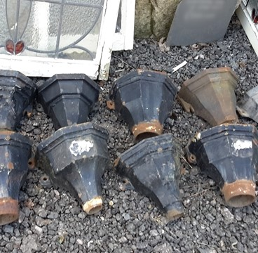 Small Cast Iron Rainwater Hoppers