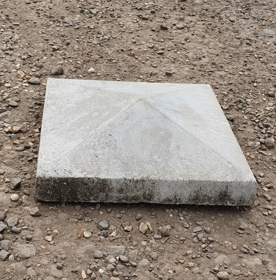 Small Concrete Pier Cap