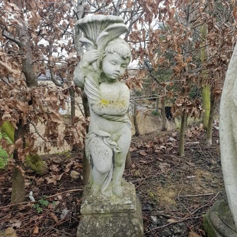 Statue holding cornucopia 2