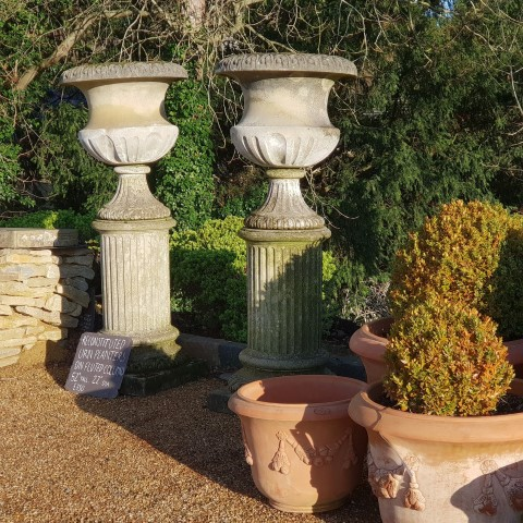 Fluted Column with Urn small