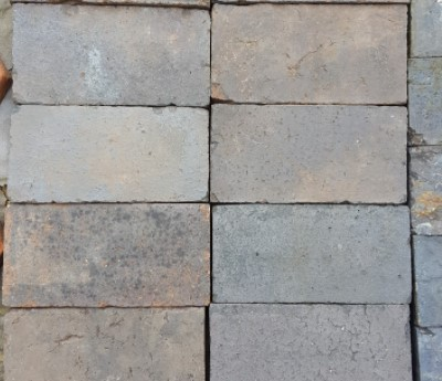Reclaimed Victorian Smooth Blue Paver