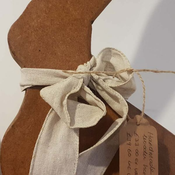 Handmade wooden hair country gift