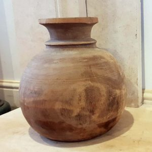 Handmade Wooden Pot Vase