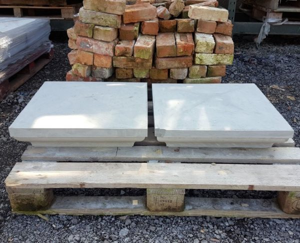 Yorkstone Four way Pier Cap Pair