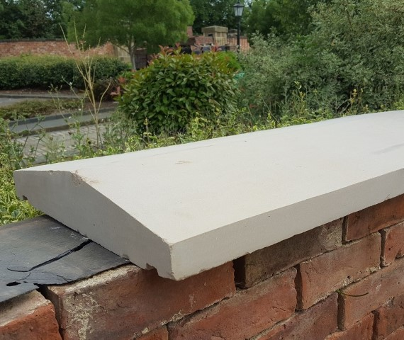 new sandstone wall coping 40 x 90 (Small)