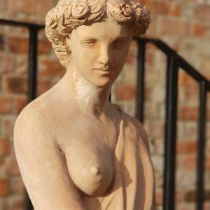 terracotta maiden italian statue