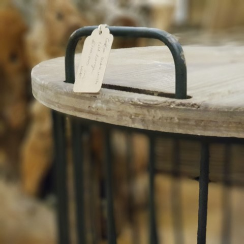 Wooden Coffee Side Table Small
