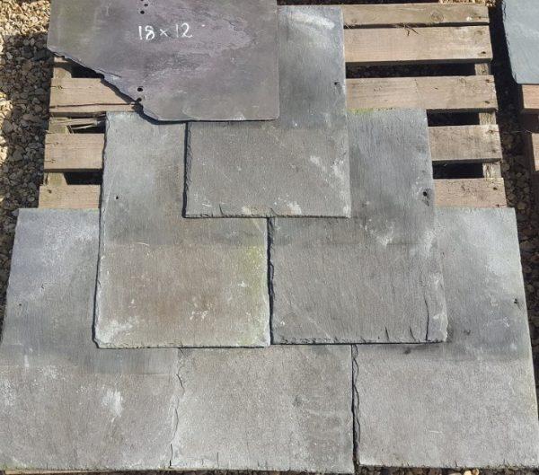 18 x 12 Reclaimed Roofing Slate