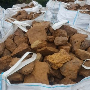 Bag of Ironstone Dry Stone Walling