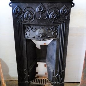 Cast Iron Bedroom Fireplace with mantle