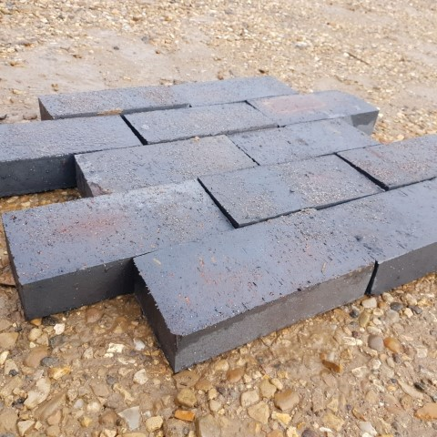 Blue Clay Pavers New (Square Edged) 215x103x50mm