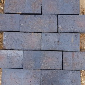 New Blue Clay Pavers Square Edged