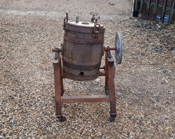 Cast Iron Butter Churn
