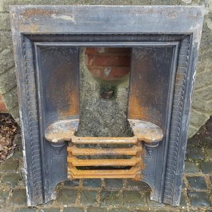 Reclaimed Second Hand Cast Iron Fire Insert